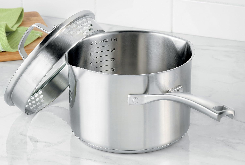 1 1//2-quart 1891249 Calphalon Classic Stainless Steel Cookware Sauce Pan