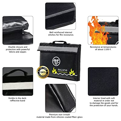 Avlone Fire/Waterproof Money & Documents Bag Review