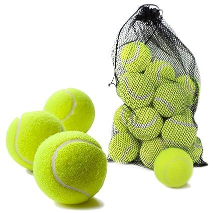 Bramble Set de Pelotas de Tenis Duras. Ideales para Deportes, Partidos y Juegos en