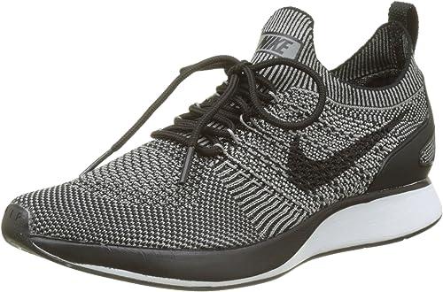 Nike Air Zoom Mariah Flyknit Racer - Zapatillas de running para hombre (11  unidades, color gris oscuro/gris claro)