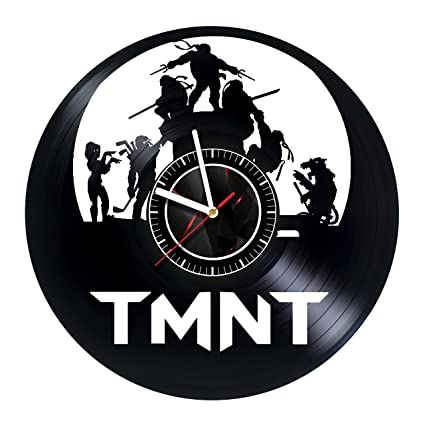 Amazon.com: Teenage Mutant Ninja Turtles - Wall Clock Made ...