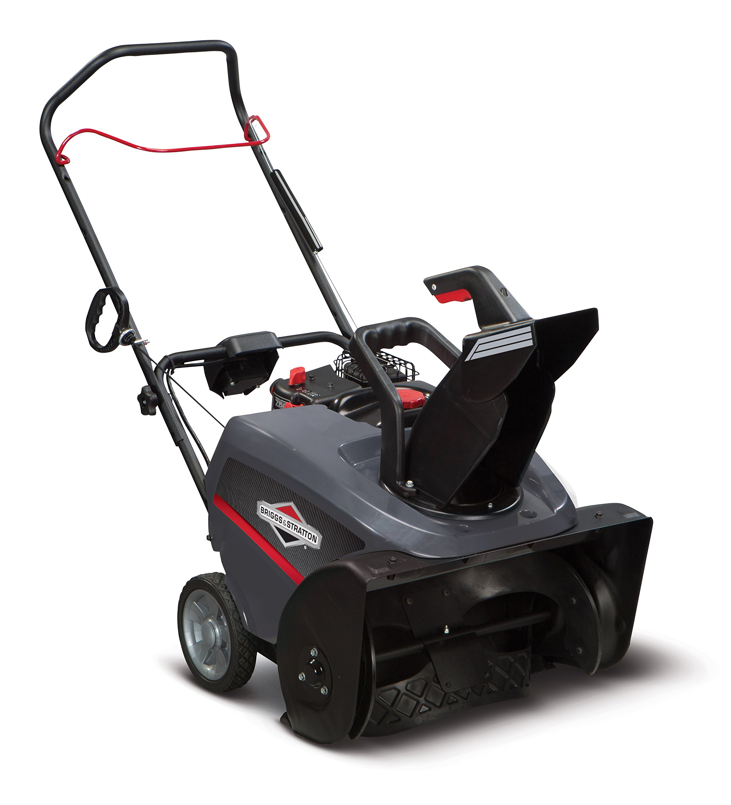 Briggs & Stratton 1696509 Single Stage Snow Thrower with 750 Snow Series 163cc Engine and Electric Start, 22-Inch
