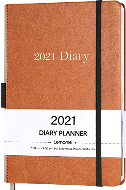 Simple Design Book, 2021 Diary by SmartPanda A4 Week to View Dated Planner