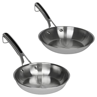 Revere Copper Confidence Core Stainless Steel Starter Sets (8 & 10  Fry Pans)