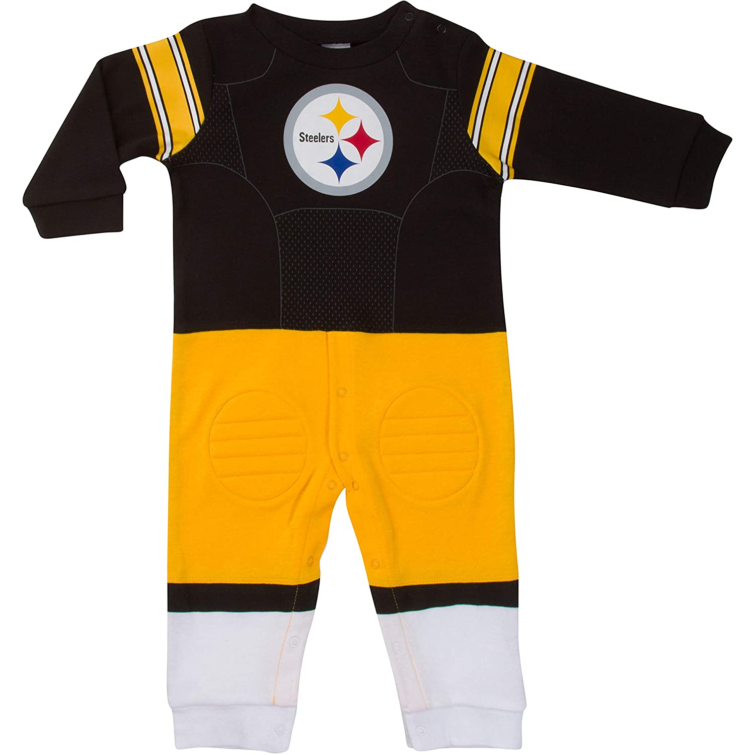 e198c5c78 Amazon.com   NFL Pittsburgh Steelers Unisex-Baby Footysuit Coverall ...