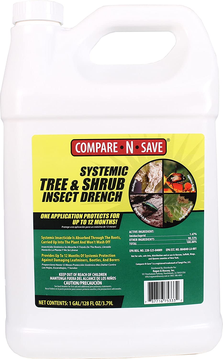 Compare-N-Save Systemic Tree and Shrub Insect Drench Review