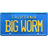 Big Worm Celebrity Machines Friday Metal Stamped Vanity Prop License Plate Combo Ice Cube Chris Tucker