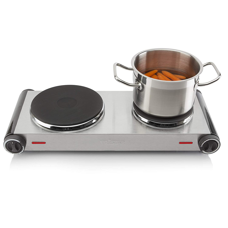 acero Rommelsbacher THS 2022//E Gastro 22 cm Cocina el/éctrica port/átil con un fuego