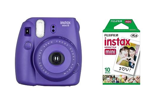 902 opinioni per Fujifilm Instax Mini 8 Fotocamera Istantanea per Foto Formato 62 x 46 mm + 10
