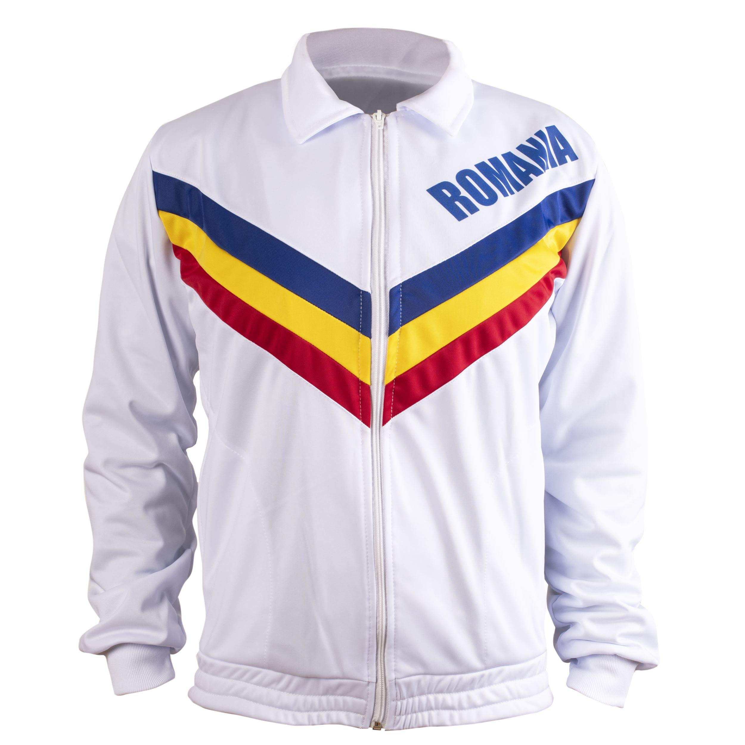 Children's Romania Olympic Gymnastic Jacket - Montreal 1976 Olympics Edition - Perfect 10 Gold Medal - 11-12