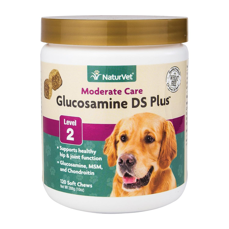 NaturVet glucosamine DS Plus Niveau 2modérée Joint Care pour Chiens et Chats, Doux à mastiquer, fabriqué aux États-Unis Garmon Corp 79903578