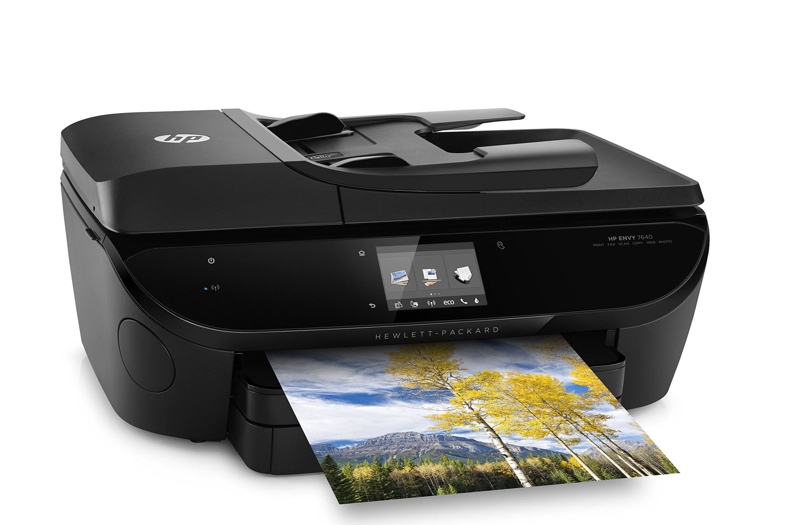 HP Envy 7640 Wireless All-in-One Photo Printer with Mobile Printing, Instant Ink ready (E4W43A) by HP (Image #3)