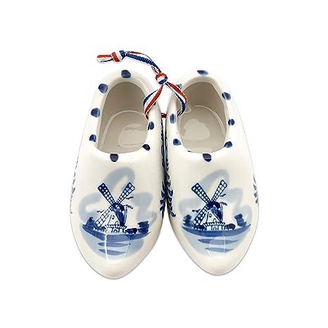 Amazon.com: Cerámica Holandesa de madera Zapato Par (5 ...