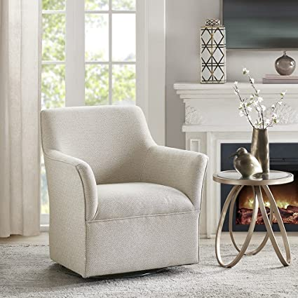 Augustine Swivel Glider Chair Cream See Below