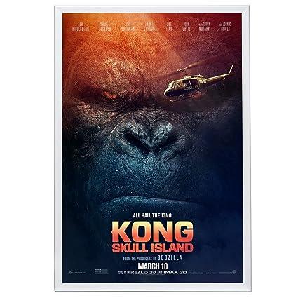 Amazon.com - SnapeZo Movie Poster Frame 27x40 Inches, White 1.25 ...