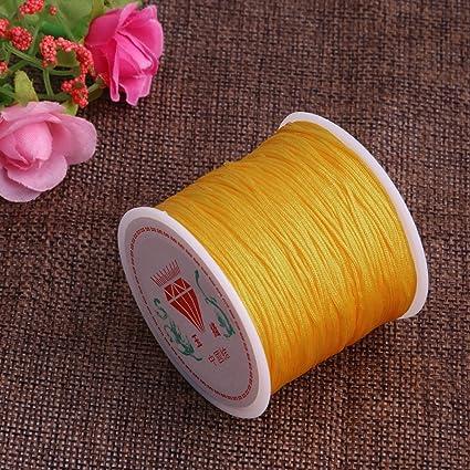 1Roll 0.8mm Knotting Knot 45M Chinese Bracelet Thread Cord String Nylon Thread