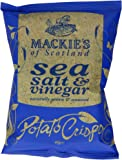 Mackie's of Scotland Sea Salt and Vinegar Potato Crisps 40 g (Pack of 24)