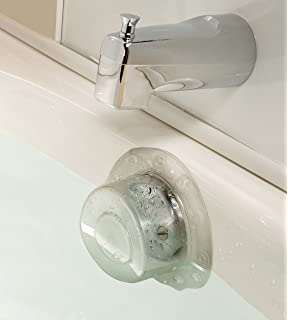 SlipX Solutions Bottomless Bath Overflow Drain Cover Adds Inches Of Water  To Tub For Warmer,