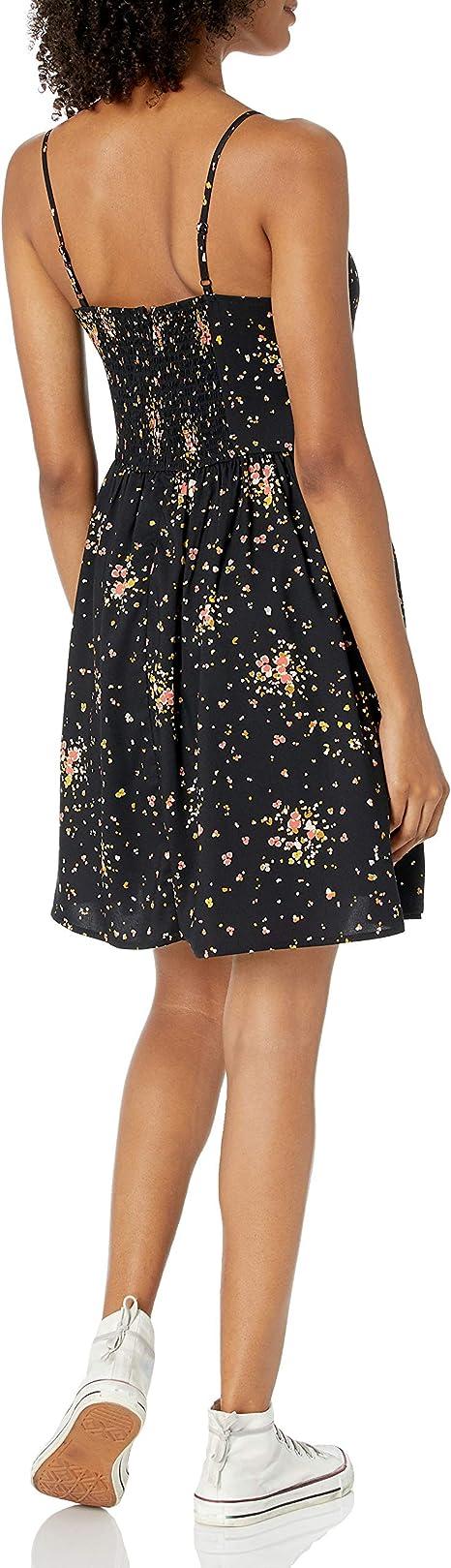Marca dresses Mujer Goodthreads Georgette Smock-back Cami Mini Dress