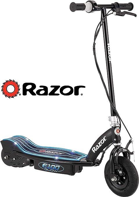 Amazon.com : Razor E100 Glow Electric Scooter : Sports ...