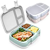 Bentgo Fresh 3-Pack Meal Prep Lunch Box Set - Reusable 3-Compartment Containers for Meal Prepping, Healthy Eating On-the…