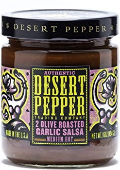 Desert Pepper Trading Company 2 Olive Roasted Garlic Salsa
