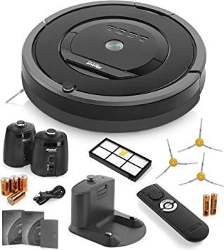 iRobot Aspiradora Roomba 880 limpieza Robot 2 faros de pared ...
