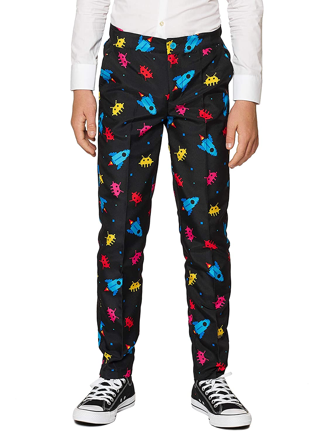 Suitmeister Fun Suits in Different Prints Includes Jacket Pants /& Tie