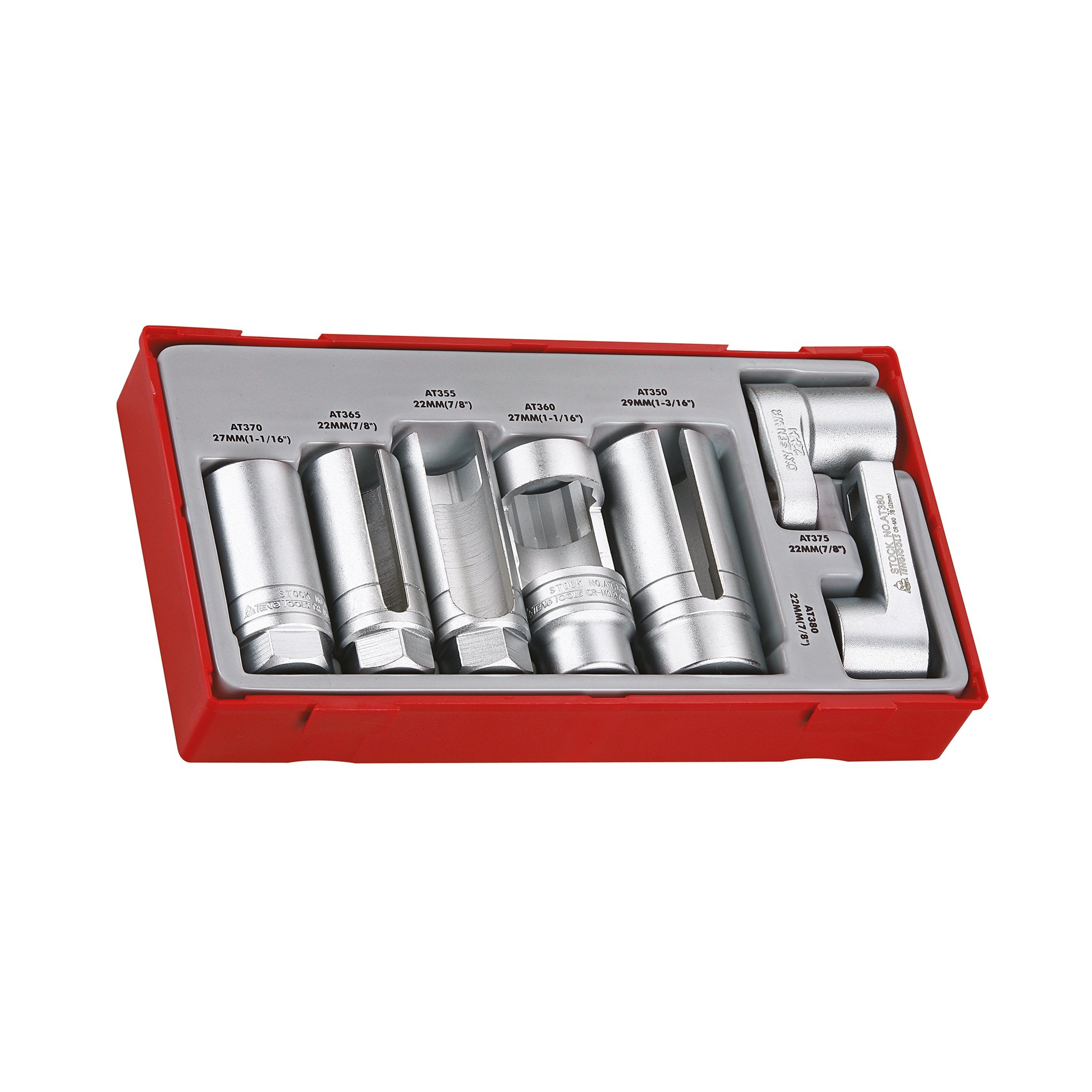 Teng Tools - 7 Piece Automotive Specialist Socket Set - TTSS07 by Teng Tools (Image #1)