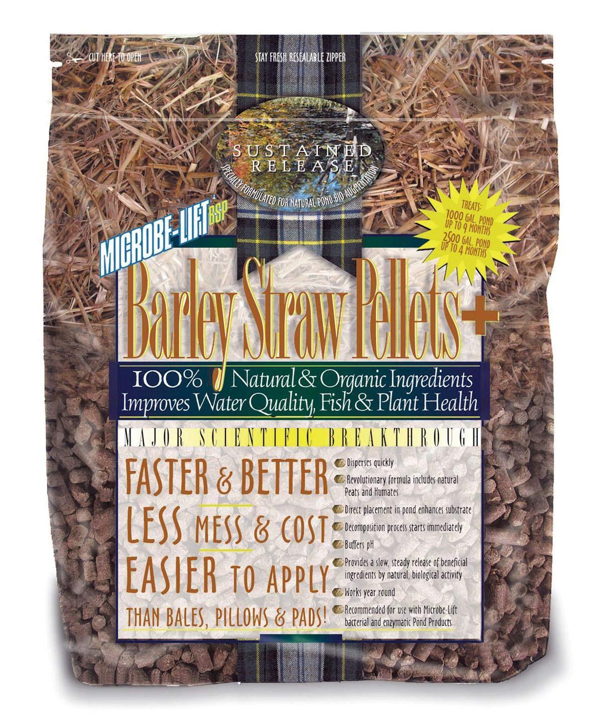 Ecological Laboratories Microbe-Lift Barley Straw Pellets PLUS (4.4 lbs.)