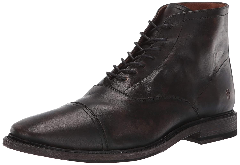 Black Frye Mens Paul Lace Up Fashion Boot