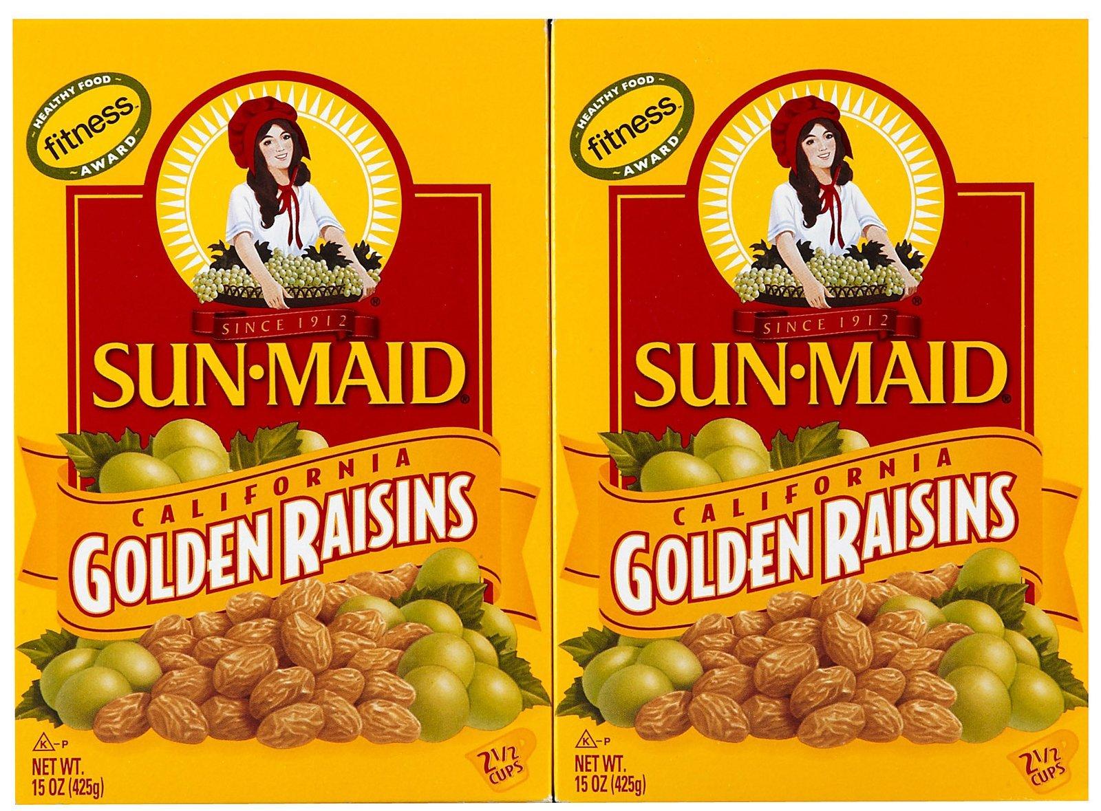 Sun Maid Golden Raisins, 15 oz, 2 pk by Sun Maid