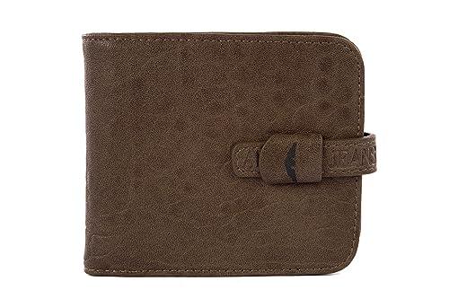 Armani Jeans cartera de hombre billetera nuevo marrón ...
