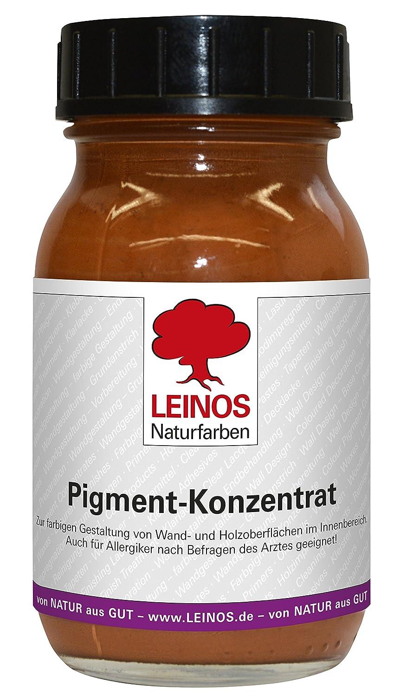 Pigment-Konzentrat 0, 10 l Ocker-Rostbraun Leinos