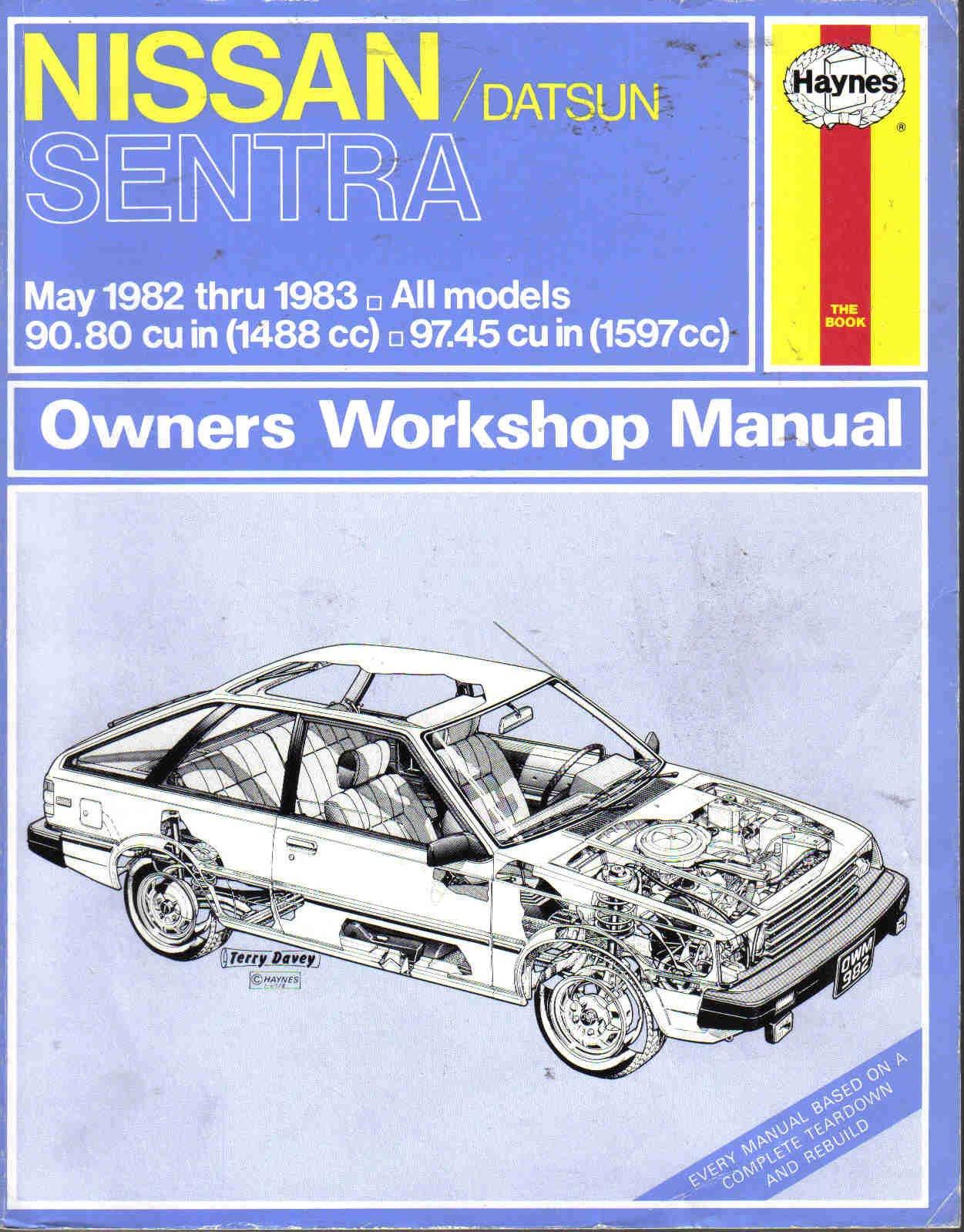 Nissan Sentra Service Manual: Exterior