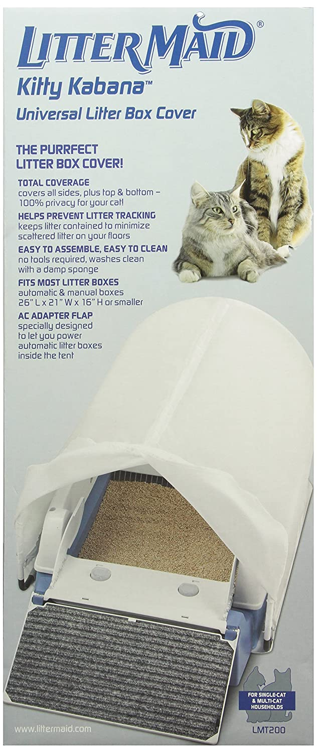 LitterMaid Kitty Kabana Universal Litter Box Privacy Tent LMT200