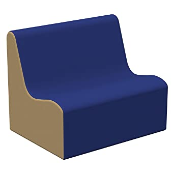 Amazon.com: SoftScape - Sofá con asiento ondulado, sofá de ...