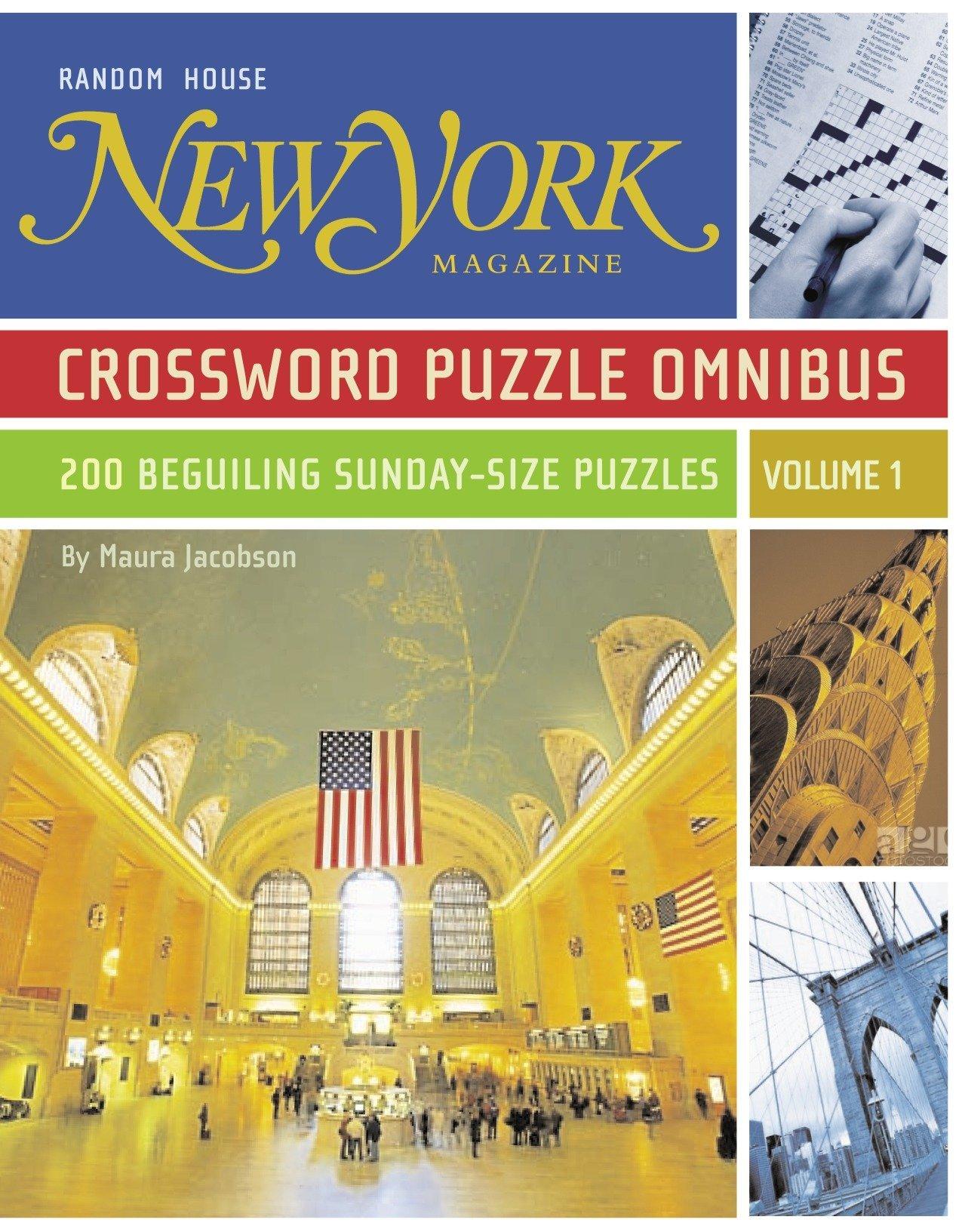 Download New York Magazine Crossword Puzzle Omnibus, Volume 1 pdf epub