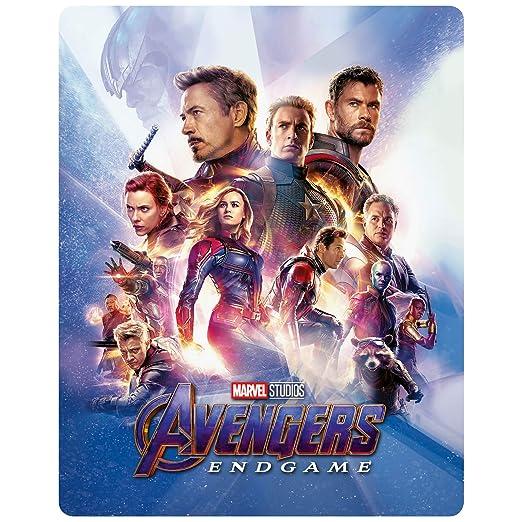 Avengers: Endgame - 3D Lenticular Steelbook Includes 2D Blu-ray Import: Amazon.es: Robert Downey Junior, Chris Evans, Chris Hemsworth, Joe & Anthony Russo, Kevin Feige: Cine y Series TV