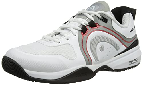 UK Shoes Store  Head Cruze Pro WHBR Mens Tennis Sport Court Trainers Shoes Whites