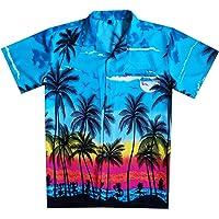 Virgin Crafts Camisa Hawaiana de Hombre Camisa