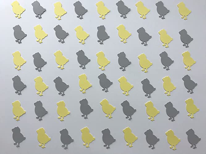 Amazon Yellow And Grey Chick Confetti Chick Decor Animal