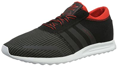 in stock 1f603 f4742 adidas Los Angeles, Baskets Basses Homme, Noir (Core Black DGH Solid Grey