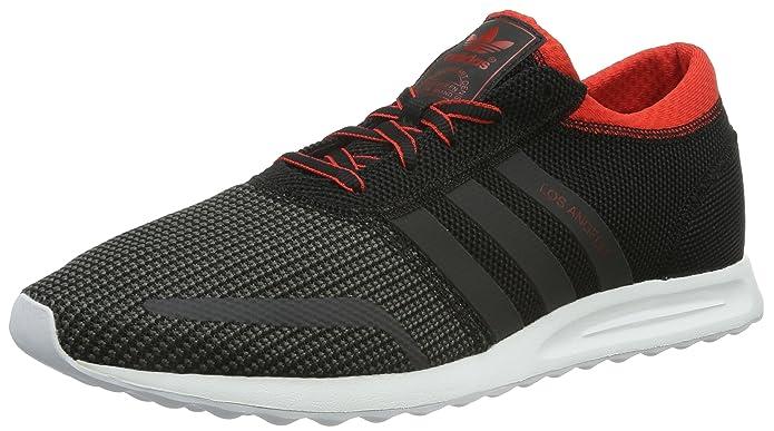 adidas Los Angeles Schuhe Herren Schwarz/Grau/Rot