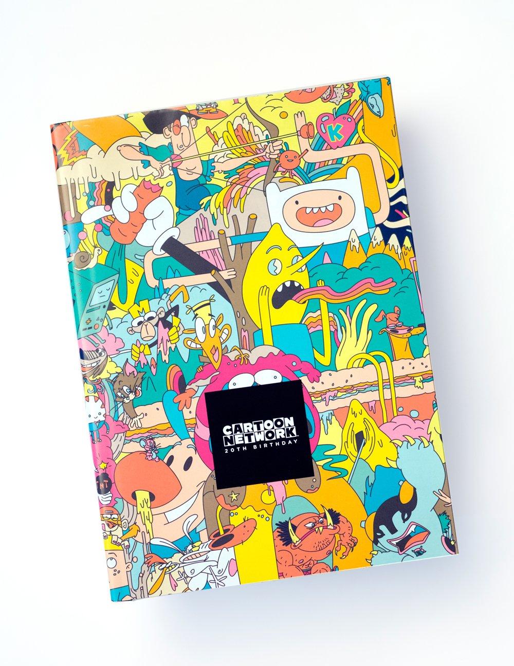 Cartoon Network 20th Birthday Amazon Com Books