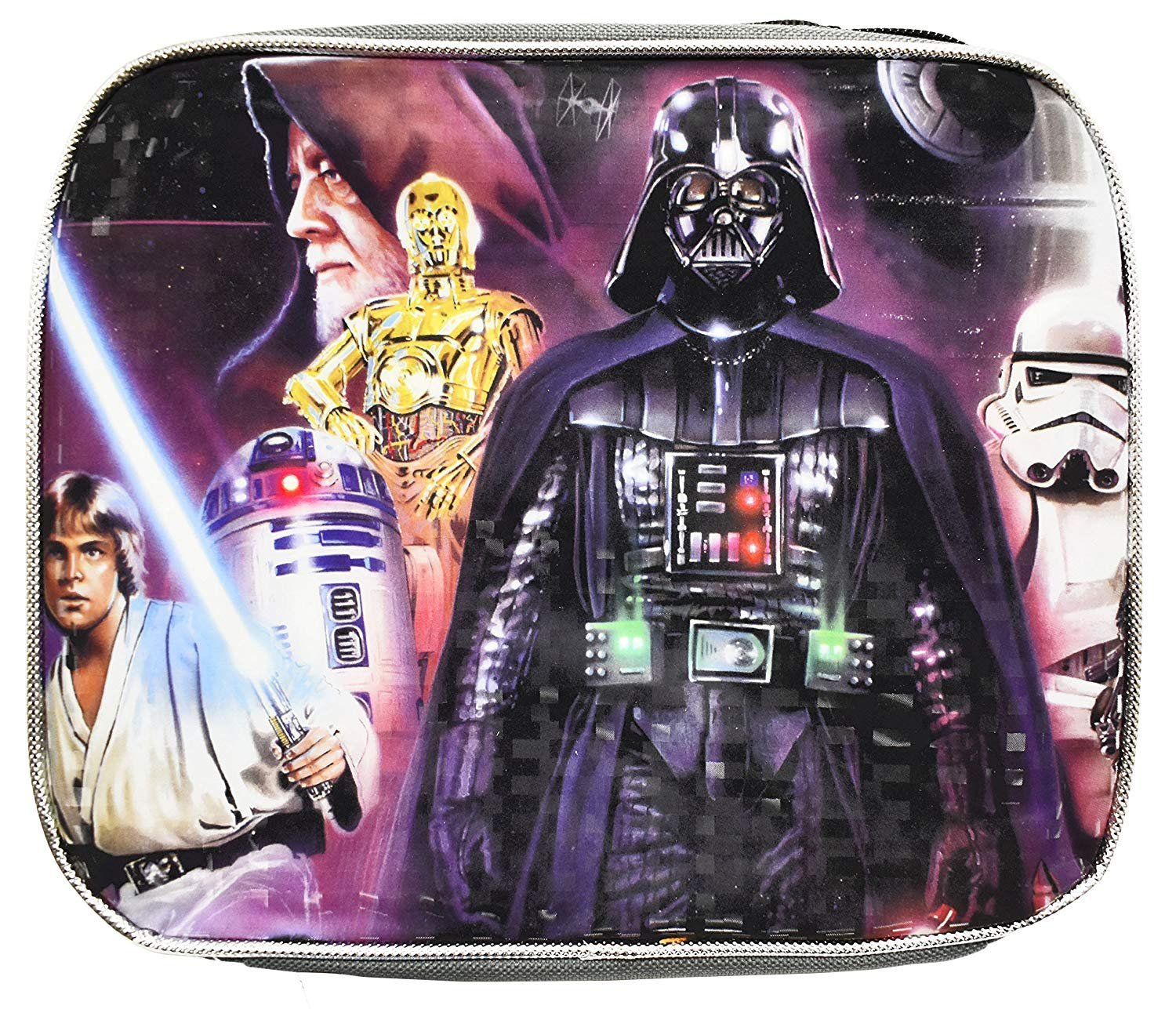 Star Wars Classic Quilt Microfiber 70 X 72 Fabric Shower Curtain Jay Franco and Sons Inc. JF09922BBCD