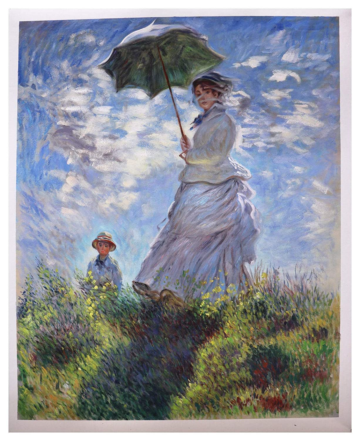 Amazon.com: Woman with a Parasol - Madame Monet and Her Son ...