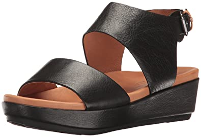 c31df43f374a Gentle Souls by Kenneth Cole Lori Leather Platform Sandal Black