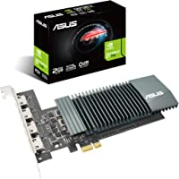 Asus GeForce GT 710 2GB GDDR5 HDMI VGA DVI Graphics Card, 90YV0E60-M0NA00