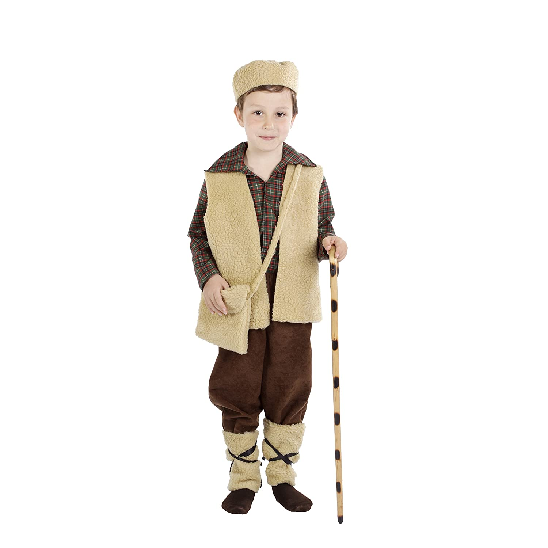 Disfraz de pastor para niño - 5-7 años: Amazon.es: Juguetes y juegos